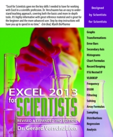Excel 2013 for Scientists, Paperback / softback Book