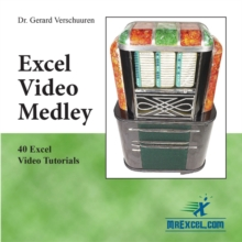 Excel Video Medley, DVD-ROM Book