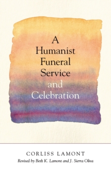 A Humanist Funeral Service And Celebration, A, Paperback Book