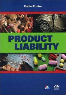 Product Liability, Paperback Book
