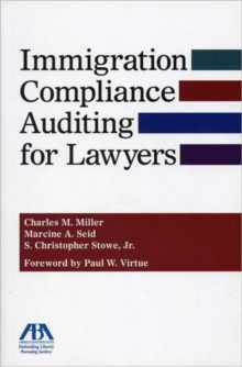 Immigration Compliance Auditing for Lawyers, Mixed media product Book