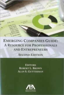Emerging Companies Guide : A Resource for Professionals and Entrepreneurs, Mixed media product Book