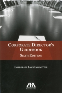 Corporate Director's Guidebook, Paperback Book