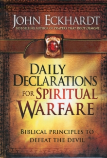 Daily Declarations For Spiritual Warfare, Hardback Book