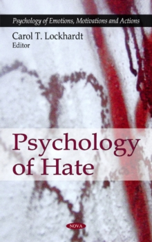 Psychology of Hate, Hardback Book