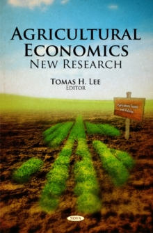 Agricultural Economics : New Research, Hardback Book