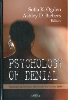 Psychology of Denial, Hardback Book