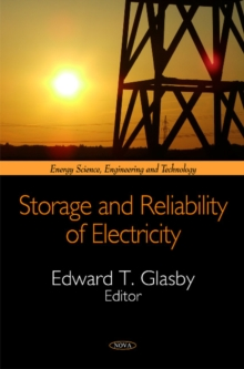Storage & Reliability of Electricity, Hardback Book