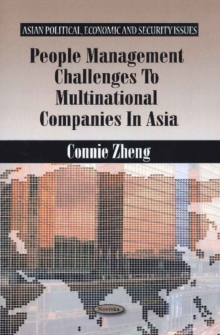 People Management Challenges to Multinational Companies in Asia, Paperback / softback Book
