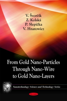 From Gold Nano-Particles Through Nano-Wire to Gold Nano-Layers, Paperback Book