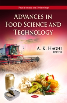 Advances in Food Science & Technology, Hardback Book