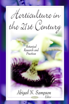 Horticulture in the 21st Century, Hardback Book