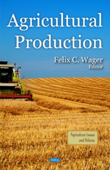 Agricultural Production, Hardback Book