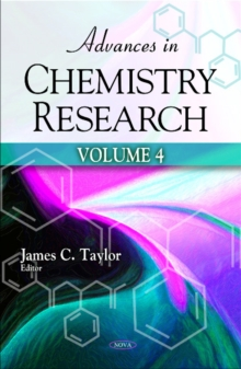 Advances in Chemistry Research : Volume 4, Hardback Book