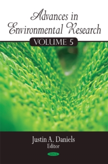 Advances in Environmental Research : Volume 5, Hardback Book