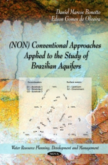 (NON) Conventional Approaches Applied to the Study of Brazilian Aquifers, Paperback Book