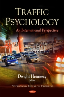 Traffic Psychology : An International Perspective, Hardback Book