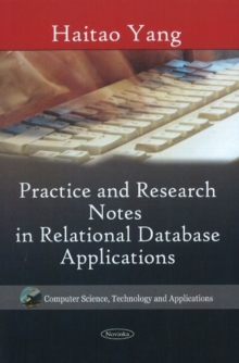 Practice & Research Notes in Relational Database Applications, Paperback / softback Book