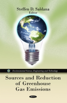 Sources & Reduction of Greenhouse Gas Emissions, Hardback Book