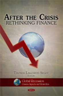 After the Crisis : Rethinking Finance, Hardback Book