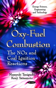 Oxy-Fuel Combustion : The NOx & Coal Ignition Reactions, Paperback Book