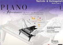 PIANO ADVENTURES TECHNIK VORTRAGSHEFT 1, Paperback Book