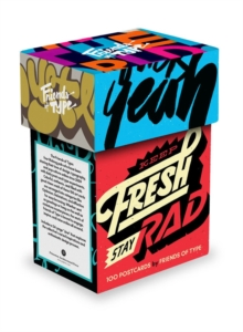 Keep Fresh, Stay Rad Postcard Box: 100 Postcards, Postcard book or pack Book