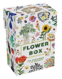 Flower Box : 100 Postcards by 10 artists, Postcard book or pack Book