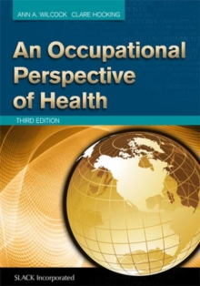 An Occupational Perspective of Health, Hardback Book