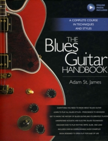 Adam St. James : The Blues Guitar Handbook, Mixed media product Book