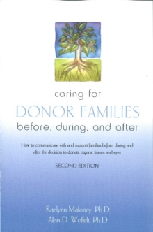 Caring for Donor Families, Paperback / softback Book