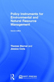 Policy Instruments for Environmental and Natural Resource Management, Hardback Book