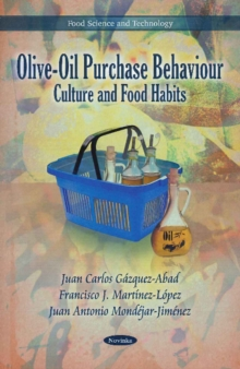 Olive-Oil Purchase Behaviour : Culture & Food Habits, Paperback Book