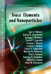 Trace Elements & Nanoparticles, Paperback Book