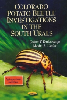 Colorado Potato Beetle Investigations in the South Urals, Paperback Book