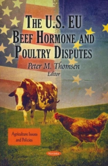 US EU Beef Hormone & Poultry Disputes, Paperback Book