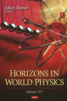 Horizons in World Physics : Volume 273, Hardback Book