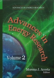 Advances in Energy Research : Volume 2, Hardback Book