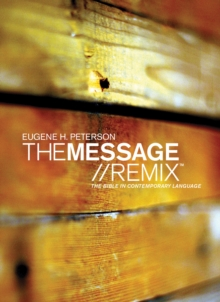 Message Remix 2.0 Bible-MS : The Bible in Contemporary Language, Paperback Book