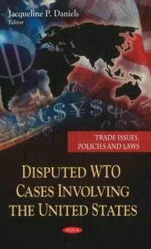 Disputed WTO Cases Involving the United States, Hardback Book