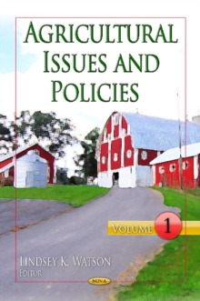 Agricultural Issues & Policies : Volume 1, Hardback Book