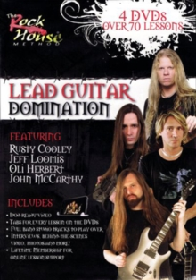 The Rock House Method: Lead Guitar Domination, DVD DVD
