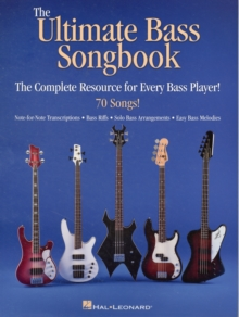 Ultimate Bass Songbook, Paperback Book