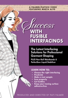 Success with Fusible Interfacings, DVD Audio Book