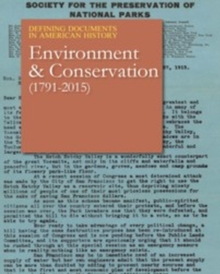 Environment & Conservation (1872-2015), Hardback Book