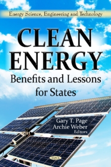 Clean Energy : Benefits & Lessons for States, Hardback Book