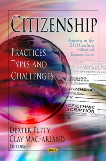 Citizenship : Practices, Types & Challenges, Hardback Book