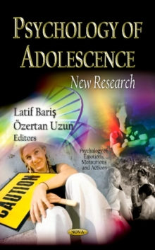 Psychology of Adolescence : New Research, Hardback Book