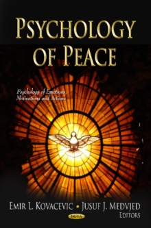 Psychology of Peace, Hardback Book