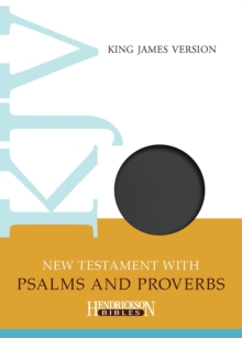 KJV New Testament with Psalms and Proverbs, Leather / fine binding Book